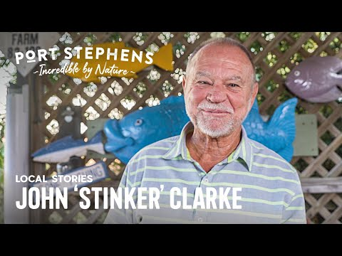Port Stephens Enthusiast John 'Stinker' Clarke Shares His Love Of Fishing In Port Stephens