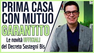 MUTUO GIOVANI: Le Novità Per L'ACQUISTO Della PRIMA CASA Con CONSAP Nel Decreto Sostegni Bis