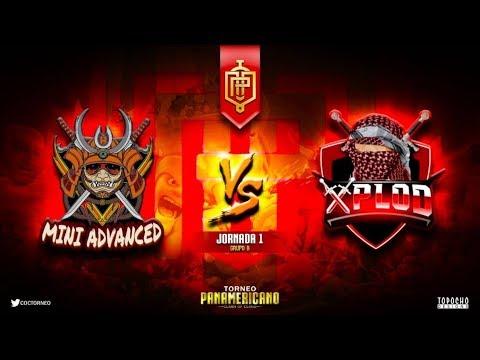 "OFICIAL Fase de Grupos ""Mini Advanced vs Xplod"" Panamericano | Clash of Clans"