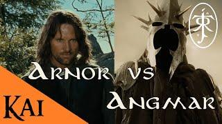 La Historia y la Guerra de Arnor y Angmar