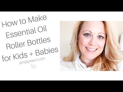 How to Make Essential Oil Roller Bottles for Kids + Babies✨
