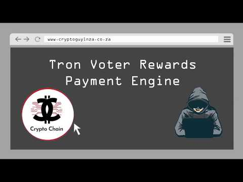Tron SR Rewards Owed To Voters - YouTube