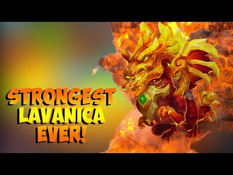Strongest Lavanica EVER?? Solos My Entire Team RIP Castle Clash