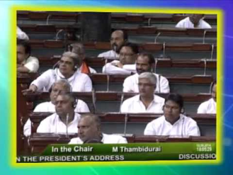 First rocking speech of PDP President Mehbooba Mufti in the Parliament
