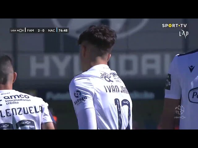 Goal | Golo Iván Jaime: Famalicão (2)-0 CD Nacional (Liga 20/21 #33)