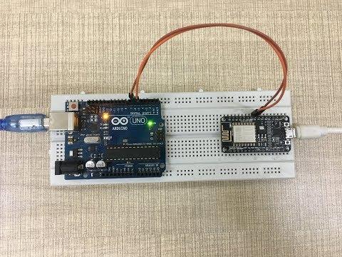 [Fully Explained]--Multiple Data--Serial Communication Between Arduino And NodeMCU (ESP8266)