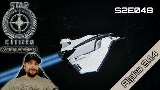 Star Citizen Wautscher S2E048 ☄️ Blick auf die Avenger Stalker vor dem Redesign | german gameplay