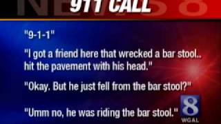 Man Riding Motorized Bar Stool Gets Dui