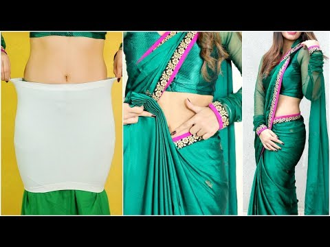 Try this WEIRD Trick to Look SLIM Instantly - How To Wear Border Saree Perfectly | Anaysa