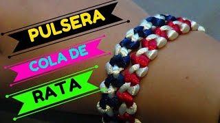 0fcca494f44d Como Hacer Una Pulsera Con Cadena Y Cola De Raton