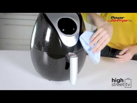 Power Air Fryer XL - Clean & Care
