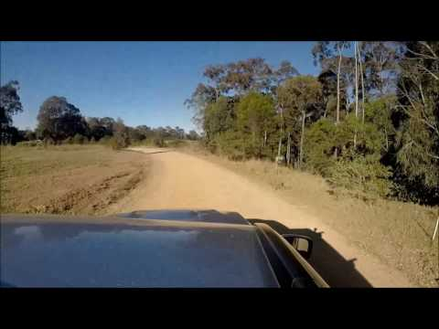 Driving the route of the new south Batemans Bay link road 2016