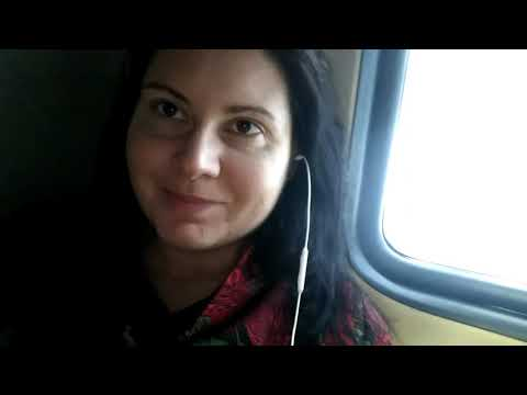 Поезд Москва-Абакан.  Туалет в РЖД плацкарт. Природа зимой из окна поезда. Поездка в Пермь.