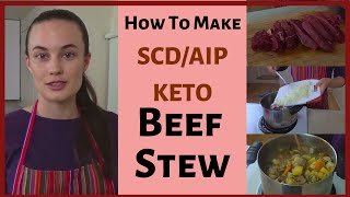 How to make a fall stew without potatoes or flour :) For those on healing diets, this stew is great for warming up in fall or winter! It is Specific Carbohydrate Diet ...