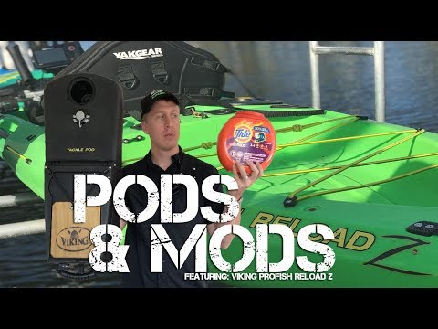 Kayak Pods & Mods- Homemade Motorized Fishing Kayak