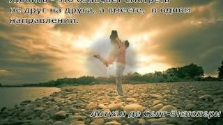 видео Афоризмы про любовь. Лучший афоризм про отношения