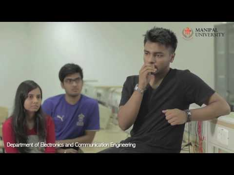Department of Electronics and Communication Engineering, Manipal University