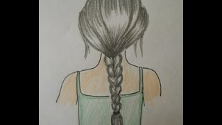 How To Draw Hair Braids: Easy Drawing Step By Step For Kids And Beginners