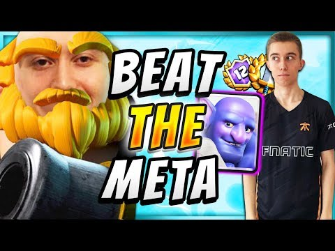 COUNTER THE META w This DIRTY ROYAL GIANT DECK! — Clash Royale