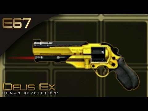 Deus Ex: Human Revolution [BLIND] - E67 - Burke's GoldenEye Revolver (Gameplay)