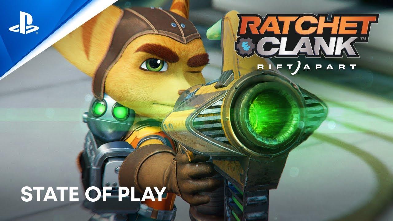 PS5|Ratchet & Clank: Rift Apart 15분 게임 플레이 - State of Play (Subnautica: Below Zero, Among US 출시)