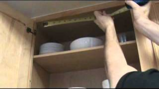 Home Diy -- How To See Things On High Shelves! (brett's Under-shelf Mirrors!)