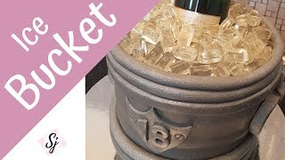 ICE BUCKET CAKE!! With Moet Champagne!!