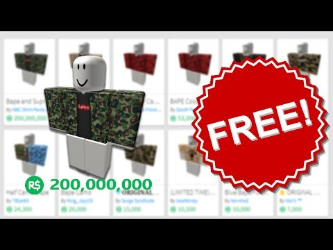 How To Get Free Clothes On Roblox 2020 Unpatchable Working