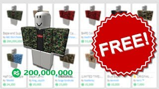 HOW TO GET FREE CLOTHES ON ROBLOX (2019) [UNPATCHABLE] [WORKING] (BC)