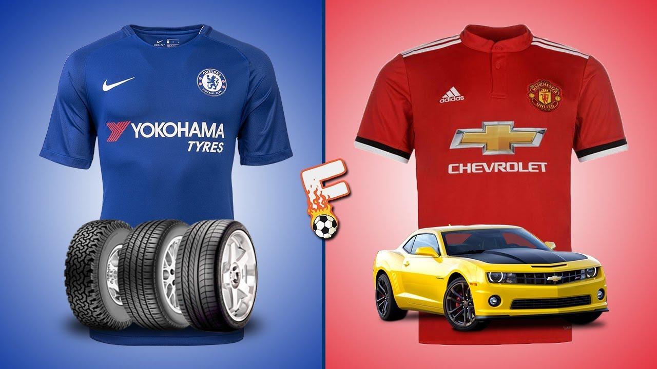 buy online f82fa dee2b Premier League Kit Sponsors 2017 / 2018 - Footchampion