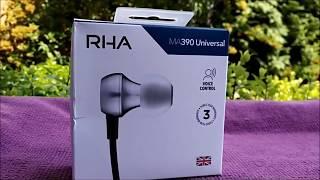 RHA Audio MA390 Universal - GADGET EXPLAINED