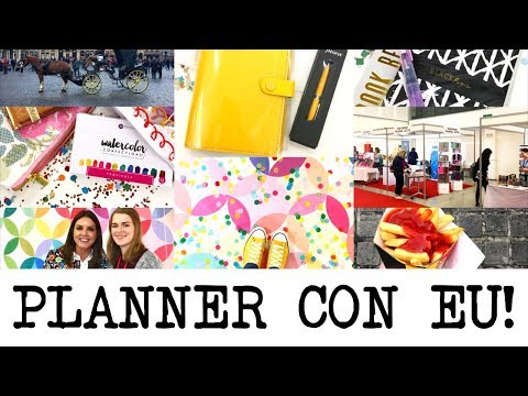 Planner Con Europe 2017 & Goody Bag Haul! | MyGreenCow