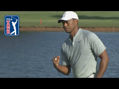 Tiger Woods' clutch birdie on No. 15 at TOUR Championship 2018