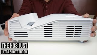 New Optoma HD31UST Ultra Short Throw Projector - Is It Worth Buying?