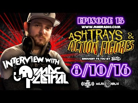 Twiztid - Interview with Mac Lethal - Ashtrays & Action Figures Episode 15