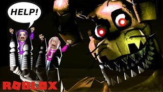 FIVE NIGHTS AT FREDDY'S OBBY! / SCARY ROBLOX OBBY!