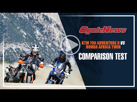 KTM 790 Adventure R vs Honda CRF1000L Africa Twin - Cycle News