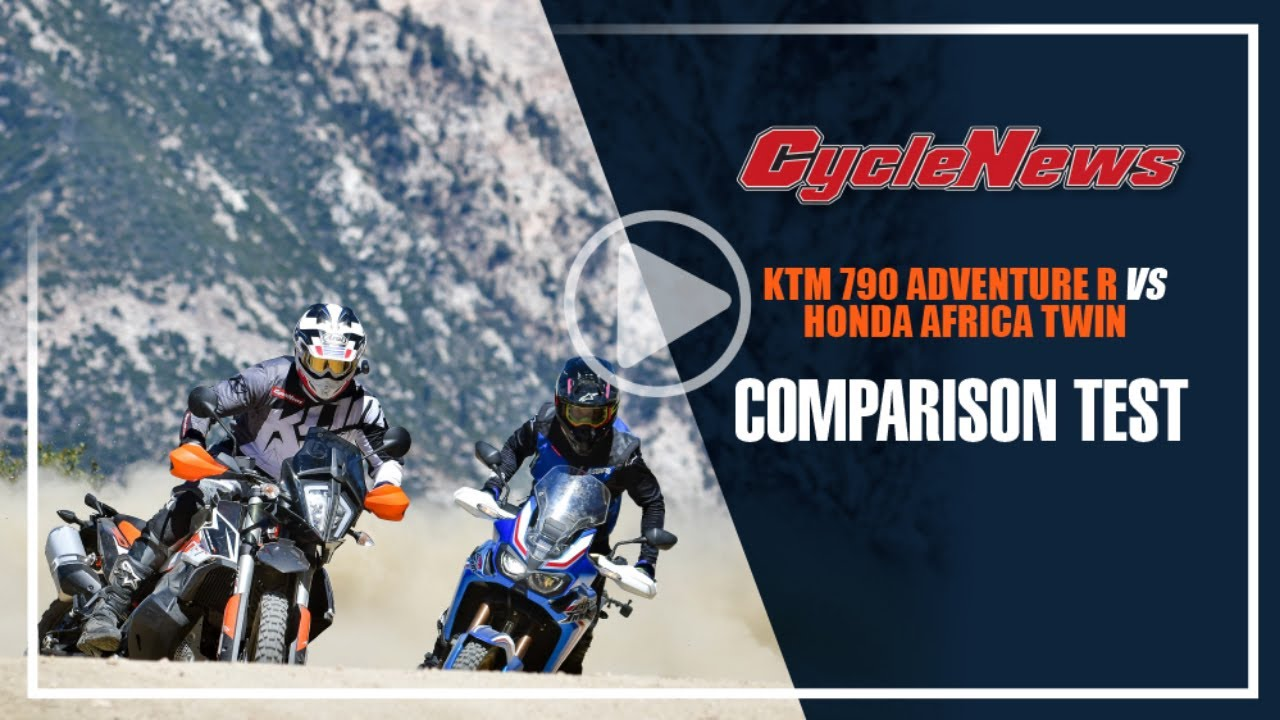 Ktm 790 Adventure R Vs Honda Crf1000l Africa Twin Cycle News Youtube