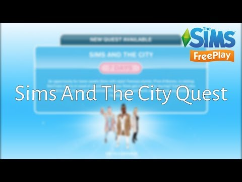 Sims And The City Quest - The Sims FreePlay