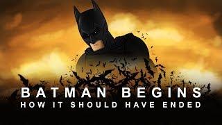 """Как должен был закончиться """"Бэтмен Начало""""  [Озвучил VLADIKON и NEIL]"""