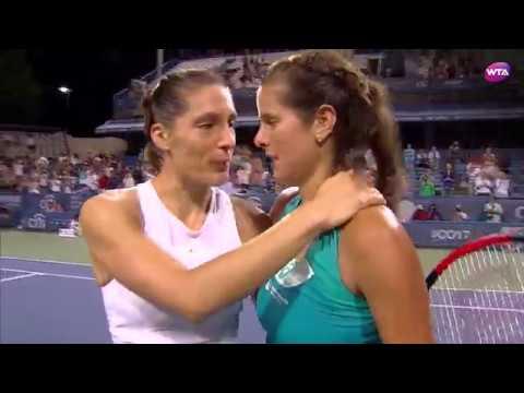 2017 Citi Open Semifinals | Julia Goerges vs Andrea Petkovic | WTA Highlights