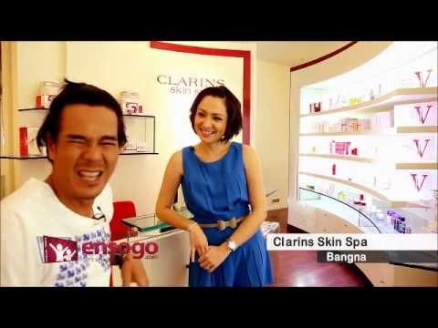 ensogo Clarins Skin Spa บำรุงผิวกับครอบครัวนิติพน