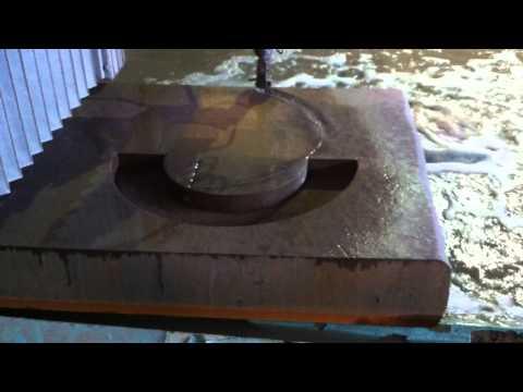 Водная резка - Сталь 45; 150мм