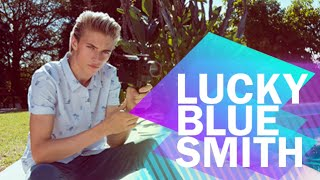 Getting personal with Lucky Blue Smith