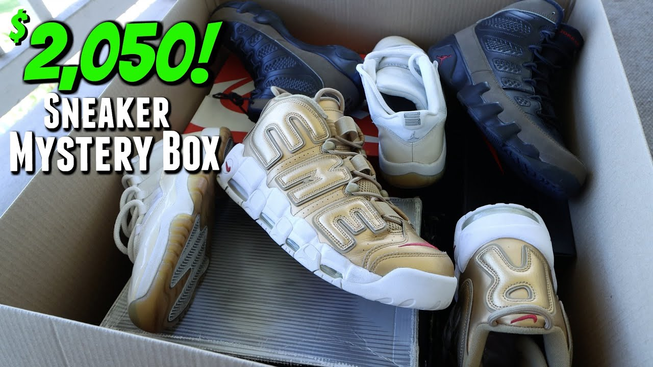 Unboxing A SURPRISING $2,050 Sneaker Mystery Box (HUGE PROFITS!)