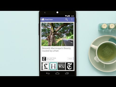 Google combines Play Magazines and Currents into one app: Newsstand