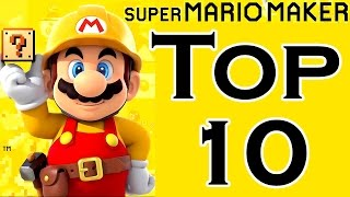 Super Mario Maker TOP 10 BEST COURSES (Wii U)
