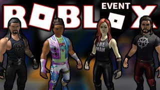 [EVENT] HOW TO GET ALL FREE SKINS + ITEMS! (April 2019) | ROBLOX WWE Event 2019