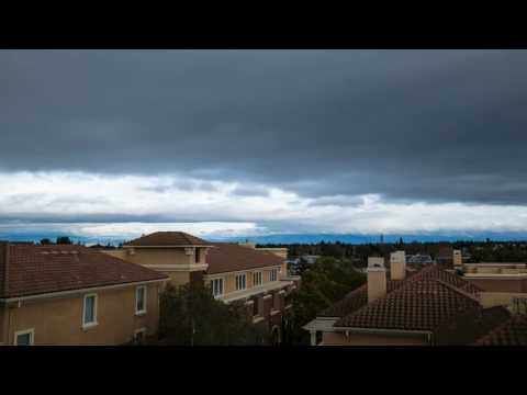 Rain Clouds in Redwood City (Timelapse)