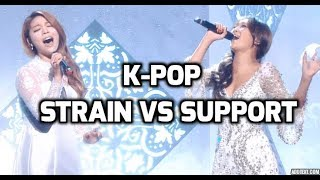 K-pop High Notes : Strain vs Support ~